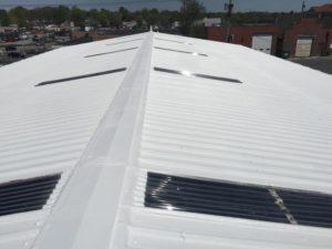 metal roof angle